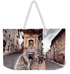 0801 Assisi Italy Weekender Tote Bag