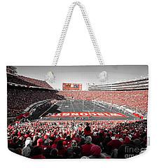 0811 Camp Randall Stadium Weekender Tote Bag