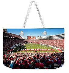 0814 Camp Randall Stadium Weekender Tote Bag