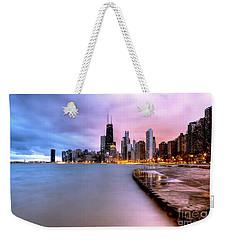 0865 Chicago Sunrise Weekender Tote Bag