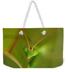 Praying Manta Weekender Tote Bag