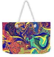 0627 Abstract Thought Weekender Tote Bag