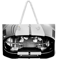 1965 Shelby Cobra Grille Weekender Tote Bag