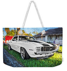 1969 Chevy Camaro Rs Painted  Weekender Tote Bag