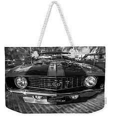 1969 Chevy Camaro Ss Painted Bw Weekender Tote Bag