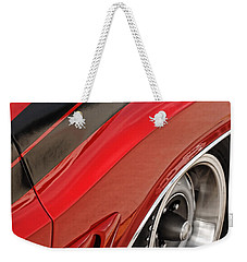 Weekender Tote Bag featuring the photograph 1970 Dodge Challenger R/t by Gordon Dean II
