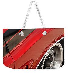 1970 Dodge Challenger R/t Weekender Tote Bag