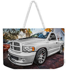 2004 Dodge Ram Srt 10 Viper Truck Painted Weekender Tote Bag