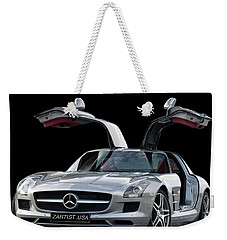 2010 Mercedes Benz Sls Gull-wing Weekender Tote Bag