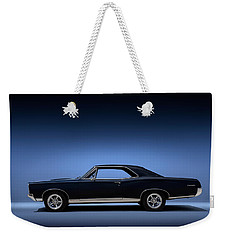 Weekender Tote Bag featuring the digital art 67 Gto by Douglas Pittman