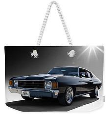 '72 Chevelle Weekender Tote Bag by Douglas Pittman