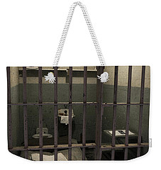 A Cell In Alcatraz Prison Weekender Tote Bag