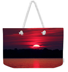 A Chesapeake Bay Sunrise Weekender Tote Bag