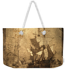 A Pirate Looks At Forty Weekender Tote Bag