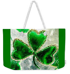 A Shamrock On Ice Weekender Tote Bag