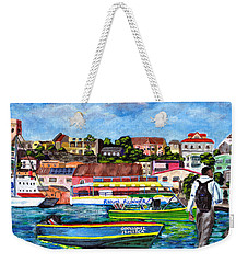A Stroll On The Carenage Weekender Tote Bag