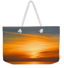 A Walk At Sunset Weekender Tote Bag by Mariarosa Rockefeller