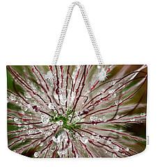 Abstract Macro Flower Head Weekender Tote Bag