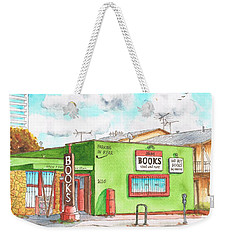 Alias Books In Westwood, California Weekender Tote Bag