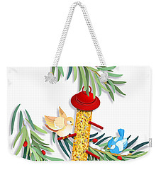 All About Sharing Weekender Tote Bag