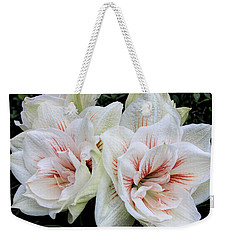 Amaryllis Cluster Weekender Tote Bag