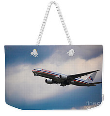 American Airlines Boeing 777 Weekender Tote Bag