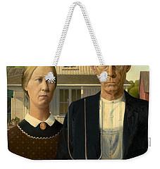 American Gothic Weekender Tote Bag
