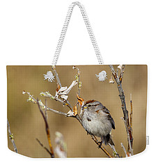American Tree Sparrow Weekender Tote Bag