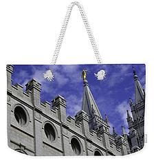 Angel On The Temple Weekender Tote Bag