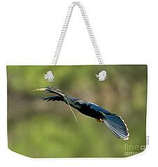 Anhinga Weekender Tote Bag by Anthony Mercieca