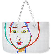 Anime Asian Girl Weekender Tote Bag