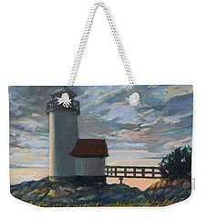 Annisquam Light Weekender Tote Bag by Eileen Patten Oliver