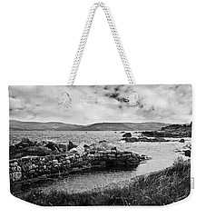 Weekender Tote Bag featuring the photograph Antrim Coast Northern Ireland by Jane McIlroy