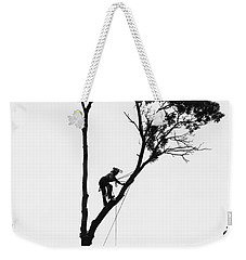 Arborist At Work Weekender Tote Bag
