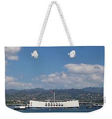 Arizona Memorial  Weekender Tote Bag