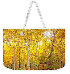 Aspen Morning Weekender Tote Bag