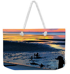 At A Days End Weekender Tote Bag by Debra Forand