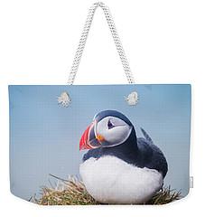 Atlantic Puffin Fratercula Arctica Weekender Tote Bag