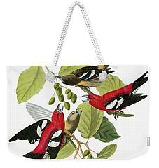 Audubon Crossbill Weekender Tote Bag