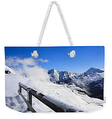 Austrian Mountains Weekender Tote Bag