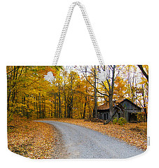 Autumn And The Old House Weekender Tote Bag
