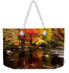 Autumn Colors Reflected Weekender Tote Bag