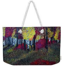 Autumn Peak Weekender Tote Bag