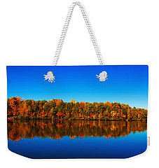 Autumn Reflections Weekender Tote Bag by Andy Lawless
