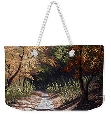 Autumn Trails Weekender Tote Bag