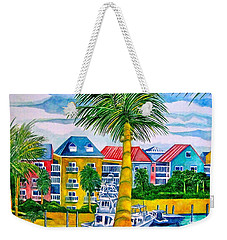 Bahamian Blues Weekender Tote Bag