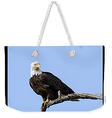Bald Eagle 7 Weekender Tote Bag