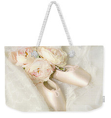 Ballet Shoes Weekender Tote Bag