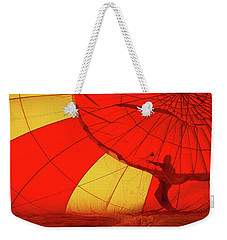 Weekender Tote Bag featuring the photograph Balloon Fantasy 2 by Allen Beatty