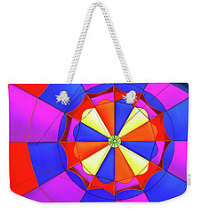 Weekender Tote Bag featuring the photograph Balloon Fantasy 3 by Allen Beatty